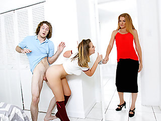 Willow Winters in No Girls Except Your Stepsis - FamilyStrokes
